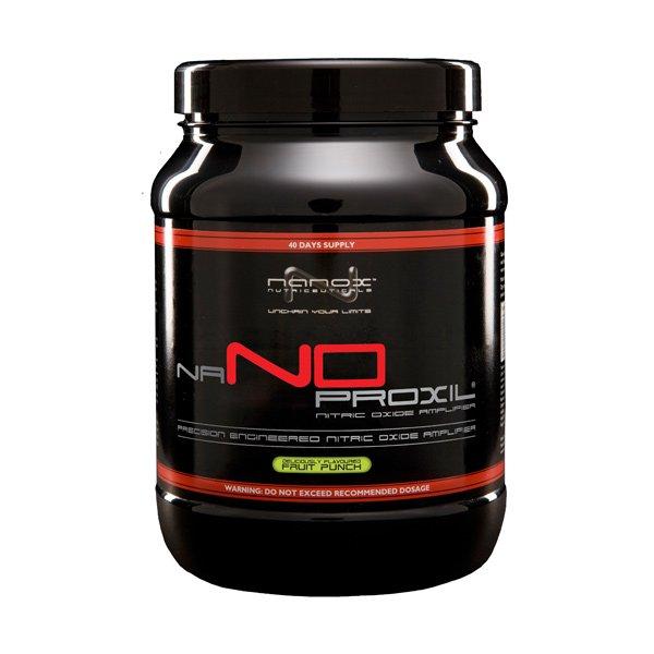 predtréningový produkt Nanox NaNoproxil s príchuťou ovocia