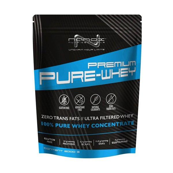 proteínový prípravok Nanox Pure Whey - koncentrát ultrafiltrácia