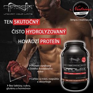 Carnilox: hydrolyzovaný hovädzí proteín