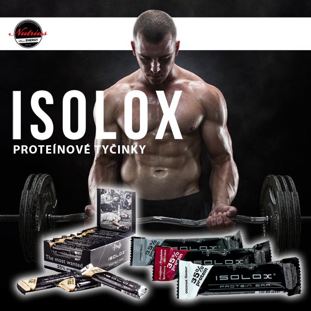 Proteínové tyčinky Nanox IsoloxProteínové tyčinky Nanox Isolox