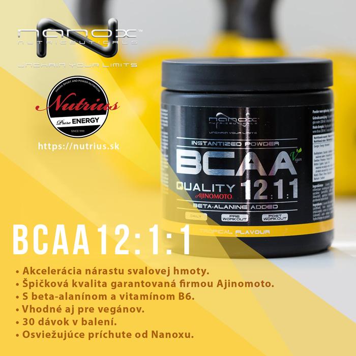 Produkt Nanox BCAA 12:1:1.