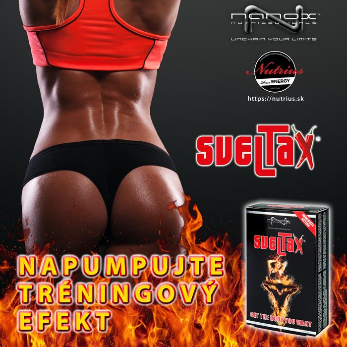 Nanox Sveltax: napumpujte tréningový efekt