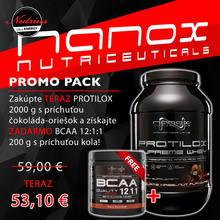 Promo-balíček Protilox + BCAA